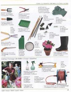 Les outils de jardin 2